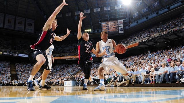 Marcus Paige and the North Carolina Tar Heels have won 10 straight and are among the top 4 in the ACC standings. (Source: UNC Athletic Communications)