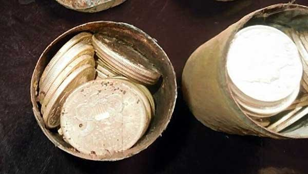 A California couple found 1,400 gold coins on their property, recently when they were out walking their dog. (Source: KGO/CNN)