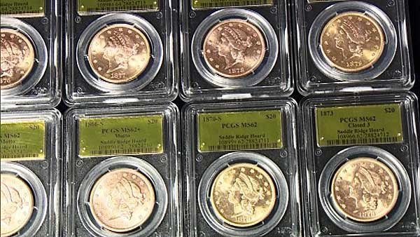 Some people thing that the coins are from a heist at the San Francisco Mint in the 1900. (Source: KGO/CNN)