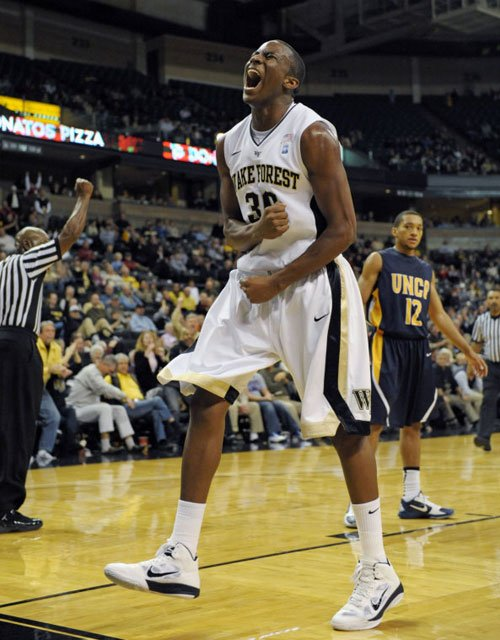 Travis McKie and the Wake Forest Demon Deacons got a win over rival Duke in the final week of the regular season. (Source: WakeForestSports.com)