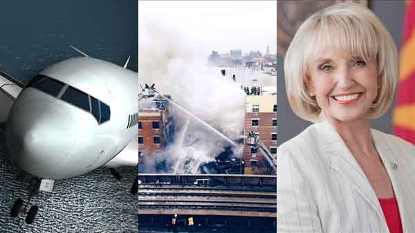 The ongoing search Malaysia Airlines Flight 370, the collapse of two buildings in Harlem and Gov. Jan Brewer's decision to not seek re-election all made headlines this week.