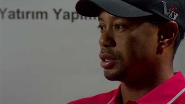 Back spasms force Tiger Woods to skip an upcoming tournament. (Source: CNN)