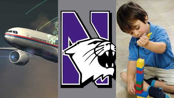 The continued search for Malaysia Airlines Flight 370, Northwestern football players being allowed to unionize and a new report about childhood autism all made headlines this week.