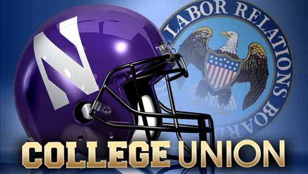 Football players at Northwestern University have the right to unionize, an NLRB official ruled. The school has appealed the decision. (source: MGN)