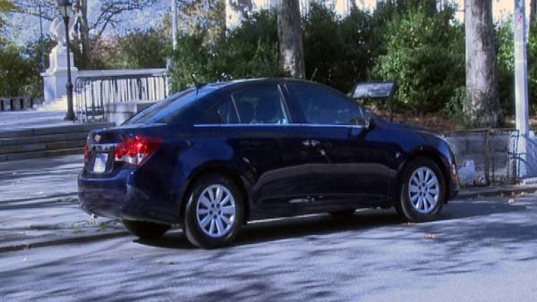 Pictured is the Chevy Cruze, General Motors' highest selling car in the U.S. (Source: CNN)