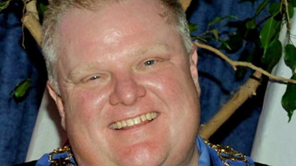Mayor of Toronto, Rob Ford, has gained more popularity for his 'drug' habit. (Source: MGN)
