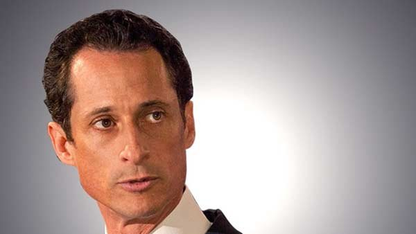 Former U.S. Representative Anthony Weiner was caught sending lewd emails. (Source:MGN)