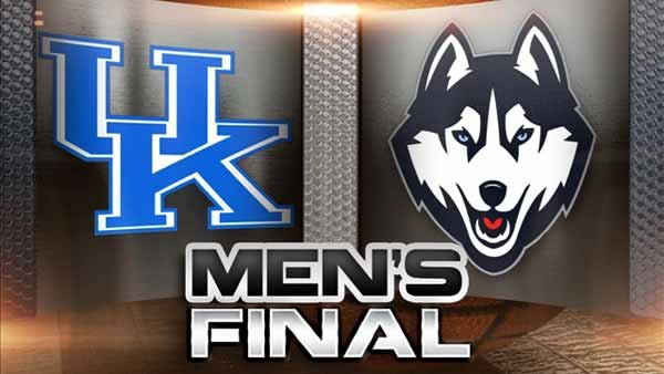 UConn led wire-to-wire and held off a late Kentucky run to win the NCAA men's basketball national championship 60-54. (Source: MGN)