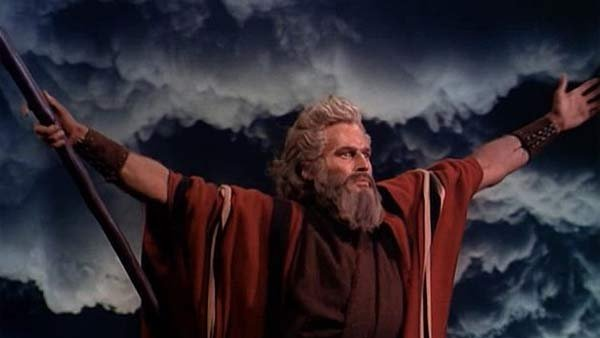 Charlton Heston starred in the 1956 blockbuster movie The Ten Commandments. More such films should be in the offing due to the success of Noah, industry experts say. (Source: Wikimedia Commons)