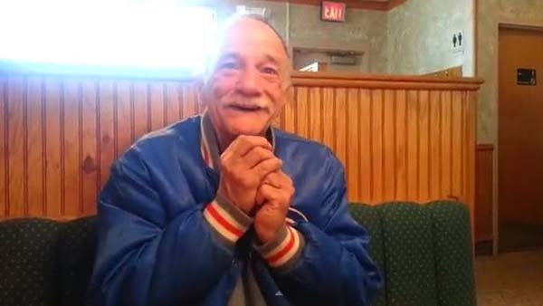More than 5 million people have enjoyed this grandfather-to-be's reaction to the news his daughter is pregnant. (Source: Jessica Hickey/YouTube)