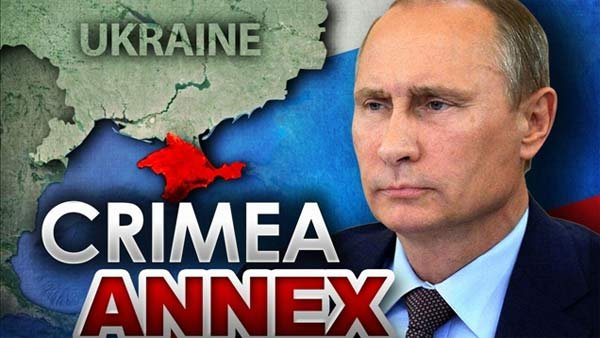 Russian President Vladimir Putin successfully brought Crimea back into Russia and seeks to redraw the map of Europe, experts on Russia say. (Source: MGN Online)