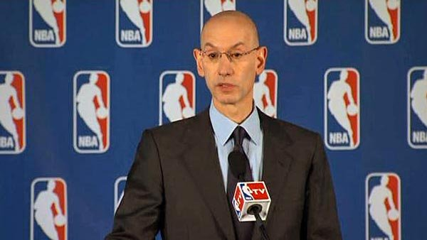 NBA Commissioner Adam Silver issues statements about racist comments LA Clippers owner Donald Sterling made to his girlfriend. (Source: CNN)