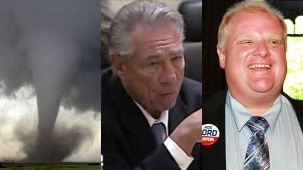 Deadly storms, a banned NBA owner and Rob Ford's campaign break all made headlines this week.