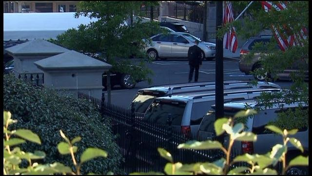 The White House lifted a lockdown after an unauthorized car reportedly drove into a restricted area. (Source: CNN)