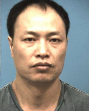 Guo Xing Chen was arrested in December. Police have since said they don't believe he is involved in the Target data breach. (Source: Williamson County Jail)