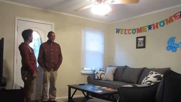 The homeless who was surprised with a lottery win in March now has a home thanks to online donations. (Source: MagicofRahat/YouTube)