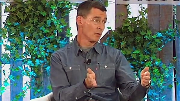 Chip Bergh, CEO of Levi Strauss, speaks about ways to sustain the environment during the Fortune Brainstorm Green conference. (Source: Fortune Magazine/YouTube)