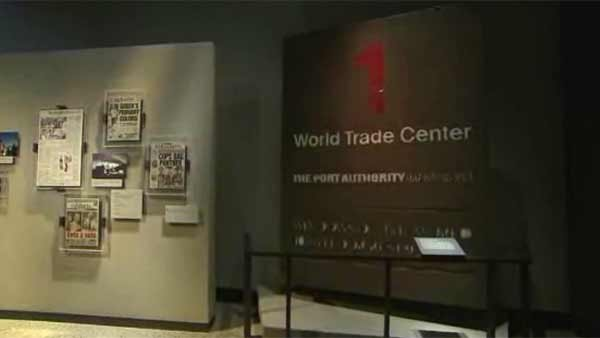 Inside the 9/11 Memorial Museum, which opened to the public on Wednesday. (Source: WCBS/POOL/CNN)