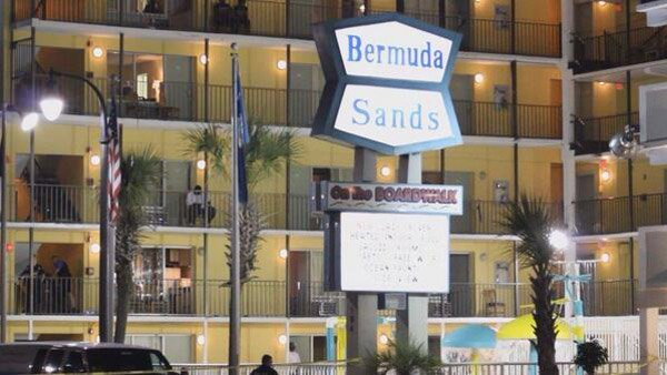 The Bermuda Sands is a three-sided motel. (Source: WIS/RNN)