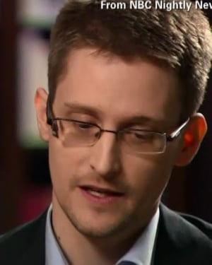 Edward Snowden has been called 'a traitor' by the U.S. State Department, but he calls himself a patriot. (Source: NBC/CNN)
