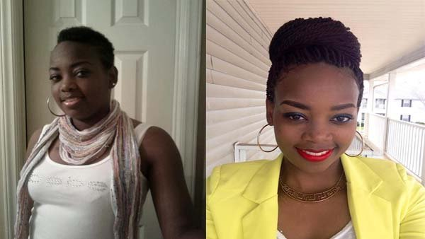 Lakeisha Booker-Sukkar before and after dialysis treatments. (Source: Lakeisha Booker-Sukkar/RNN )