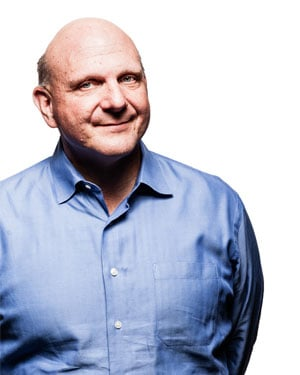 Former Microsoft CEO Steve Ballmer reportedly paid $2 billion for the team. (Source: Microsoft)