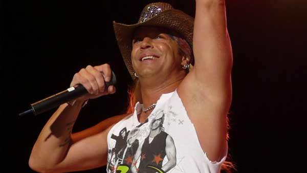 File photo of Bret Michaels, who canceled a concert Thursday after suffering a medical emergency on stage. (Source: Matt Becker/Wikipedia/MGN Online)