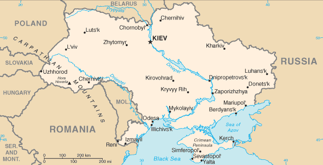 Ukrainians have seen a change in national government, the loss of Crimea and parts of eastern Ukraine, and national elections all in the past five months. (Source: WikimediaCommons)