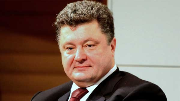 New Ukrainian leader Petro Poroshenko has vowed to crush the rebellion in eastern Ukraine. (Source: MGN Online)