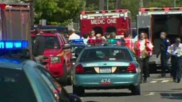 Seattle Pacific University was placed on lockdown after a campus shooting. (Source: KOMO/CNN)