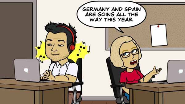 Cecelia's soccer knowledge is constantly unappreciated. (Source: Bitstrip/Facebook)