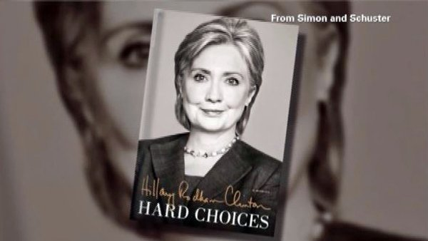 Clinton's book is a thorough retelling of her time as America's top diplomat, not a salacious tell-all. (Source: Simon and Schuster/CNN)