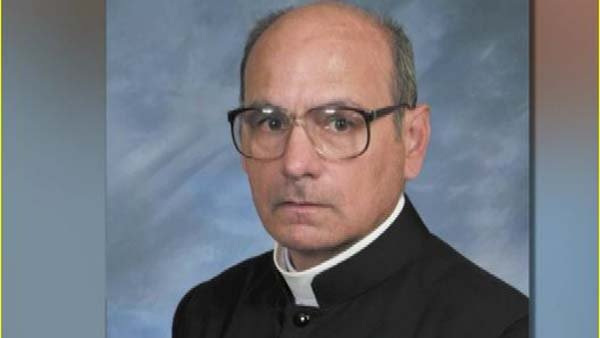 Father Joseph Terra is in critical condition with unknown injuries. (Source: CNN)
