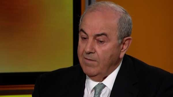 Former Iraqi Prime Minister Ayad Allawi said the national government of Iraq is already unable to secure Baghdad. (Source: CNN)
