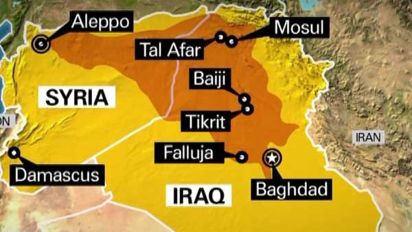 The ruthless terrorist group ISIS has captured territory from northwest Syria into the outskirts of Baghdad, Iraq. (Source: CNN)