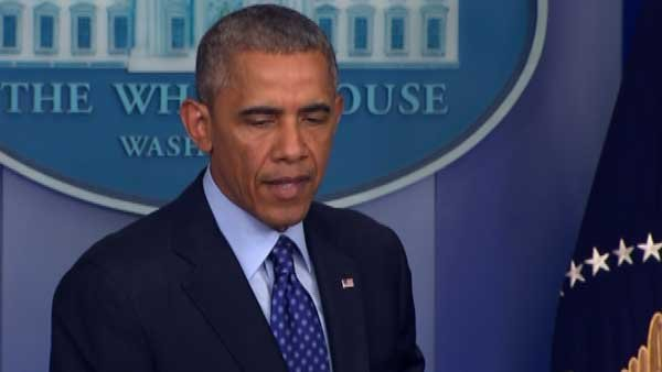 American troops are not going to be fighting in Iraq again, Obama said on Thursday. (Source: CNN)
