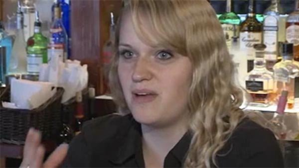 Waitress picks up the tab for furloughed solders' lunch. (Source: WMUR/CNN)