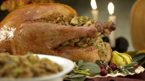 Few people expect to set down to a light meal on Thanksgiving. (Source: MGN Online)