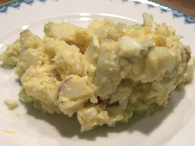 This is potato salad. (Source: Wiki Commons)