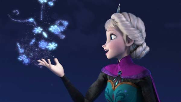 The soundtrack to 'Frozen' is 2014's best-selling album so far. (Source: Disney/MGN Online)