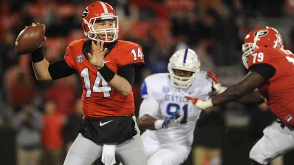 Hutson Mason filled in for Georgia when Aaron Murray tore his ACL. He will now be called on to shoulder the load all seaso