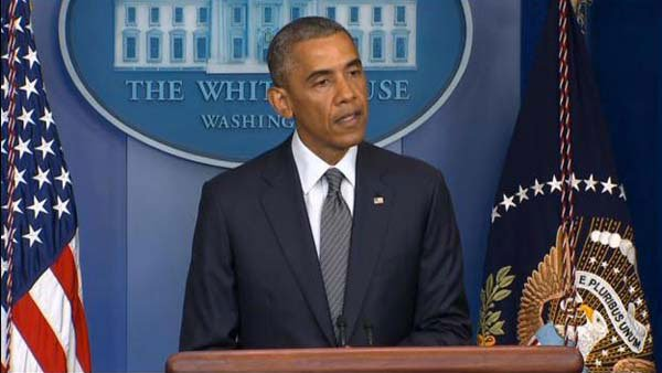 President Barack Obama confirms one American killed in the Malaysia Airlines plane crash in Ukraine. (Source: CNN)