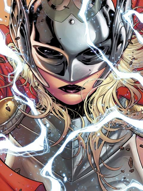 The new Thor was introduced Tuesday on The View. Marvel editor Will Moss, in an announcement on the company's website, maintained the as-yet unidentified woman was not merely a stopgap for a storyline. (Source: Marvel Comics)