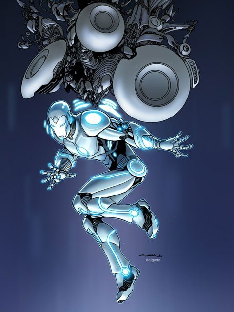 "The ""Superior Iron Man,"" another part of the Avengers NOW! program by Marvel Comics. (Source: Marvel Comics)"