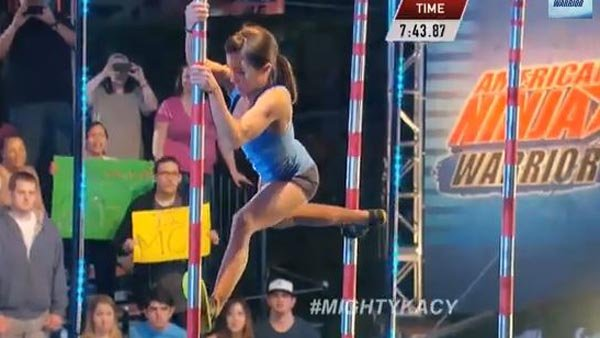 Former gymnast Kacy Catanzaro became the first woman to qualify for the American Ninja Warrior finals and drew more attention to the program than it has ever gotten.
