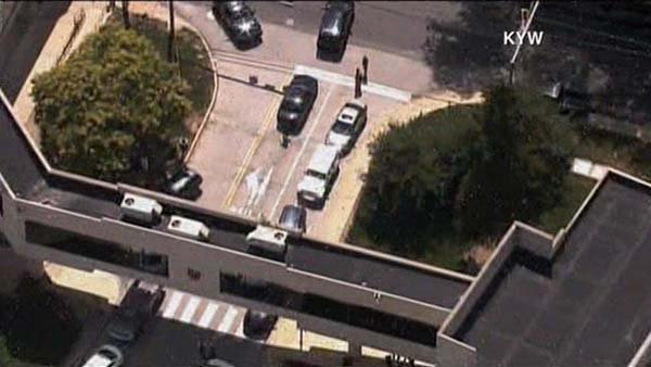 A suspect opened fire at a wellness center in Pennsylvania. (Source: KYW/CNN)