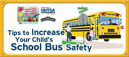 One of the many sections on the back-to-school portion of the USA.gov website concerns how to stay safe on the way to and from school.  (Source: USA.gov)