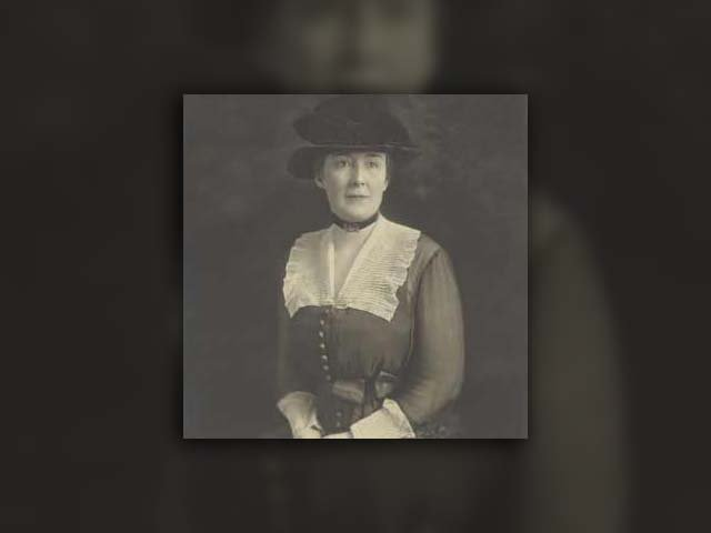 An undated photograph of Carrie Fulton Phillips. (Source: Library of Congress)