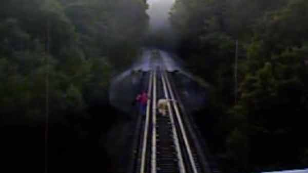 2 women narrowly escape death on IN railroad bridge