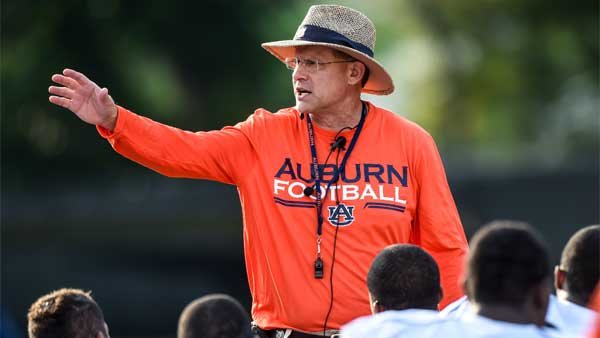 Auburn Head Coach Gus Malzahn will try to duplicate last year's offensive explosion on the Plains.  (Source: Todd Vam Emst/Auburn Athletics)